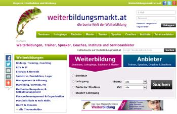 Weiterbildungsmarkt.at
