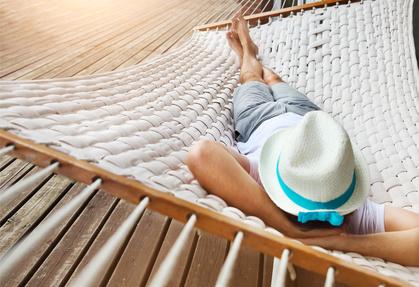 Glück und Entspannung