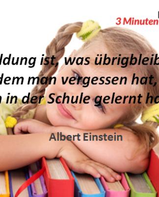 Spruch-des-Tages Einstein Schule