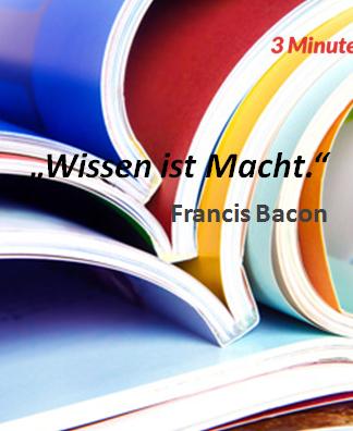 Spruch_des_Tages_Bacon_Wissen