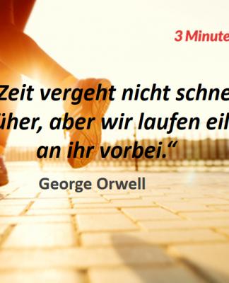 Spruch-des-Tages_Orwell_Zeit