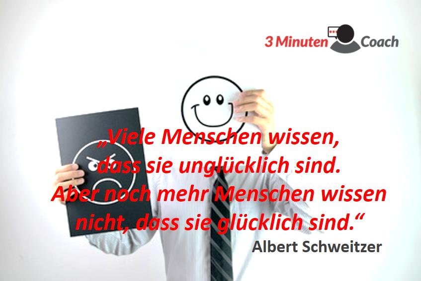 Spruch Des Tages_Schweitzer_Glück