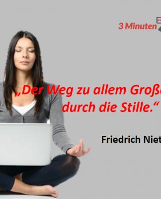 Spruch-des-Tages_Nietzsche_Stille