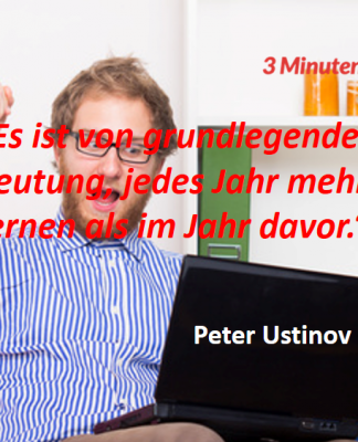 Spruch-des-Tages_Ustinov_Lernen