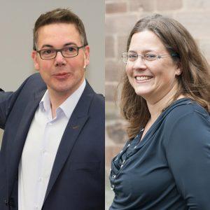 Oliver Schumacher und Julia Hayn