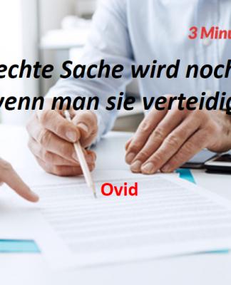 Spruch-des-Tages_Ovid_Verteidige