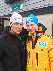 Theo Bergauer links mit Francesco Friedrich_kl